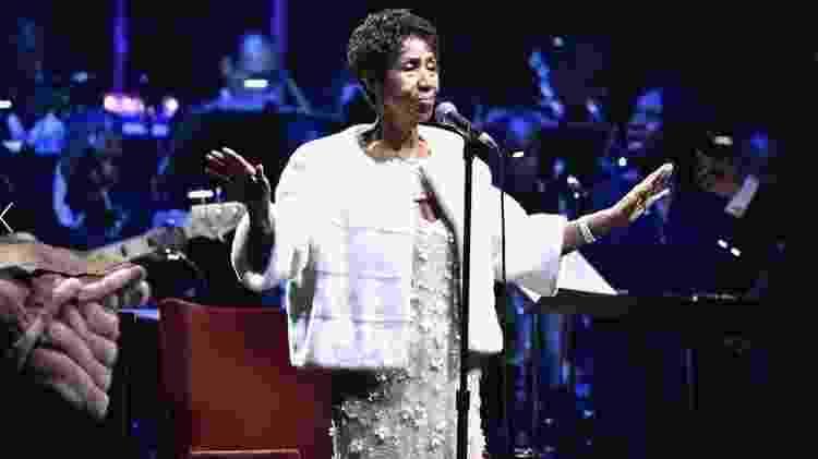 A cantora Aretha Franklin - Reprodução - Reprodução