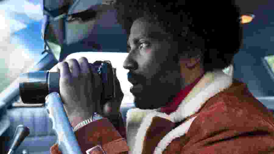"Joel David Washington em cena de ""Infiltrado na Klan"" - Focus Features"