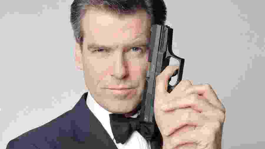 Pierce Brosman como o agente James Bond - Divulgação
