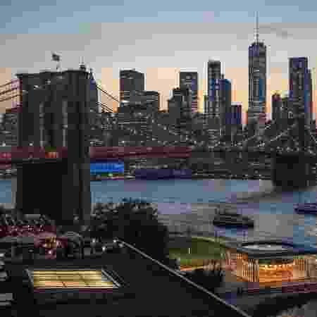 A  ponte do Brooklyn, em Nova York - Reprodução/Facebook