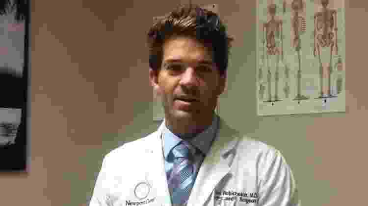 O médico Grant William Robicheaux, suspeito de abusar sexualmente de várias mulheres - Youtube - Youtube
