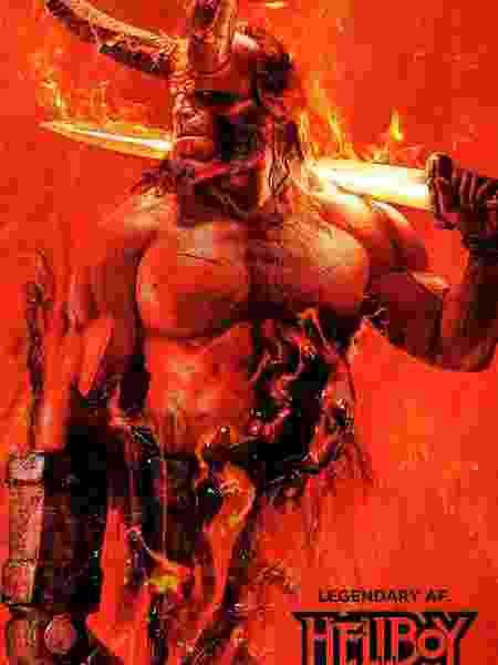 """Nova versão de """"Hellboy"""" ganhou pôster - Reprodução"""