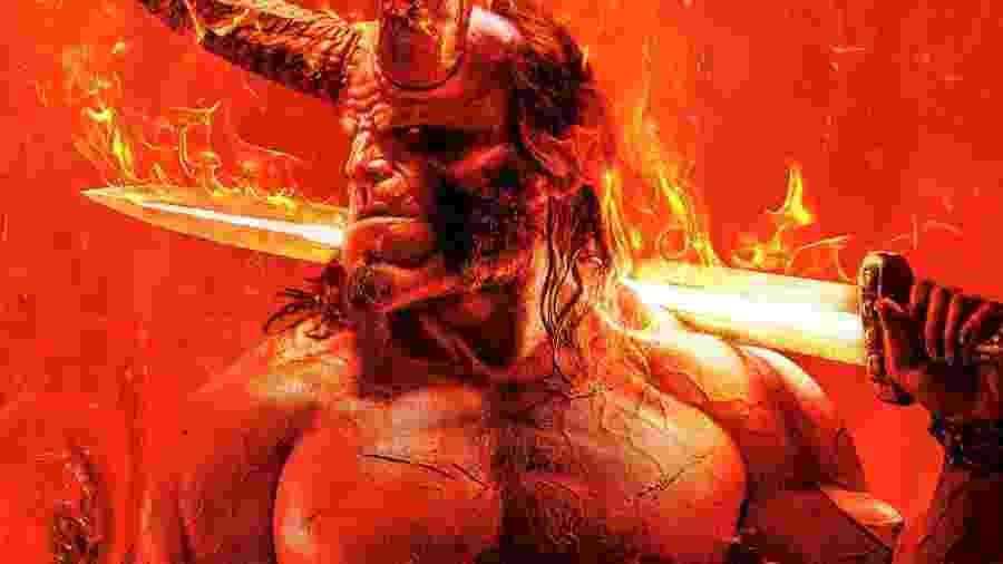 """Nova edição de """"Hellboy"""" ganhou pôster - Reprodução"""