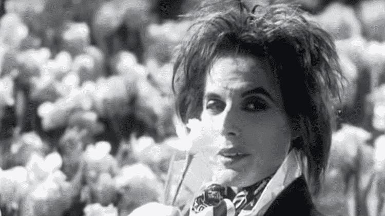 """Freddie Mecury nas filmagens do clipe de """"I'm Going Slightly Mad"""" - Reprodução - Reprodução"""