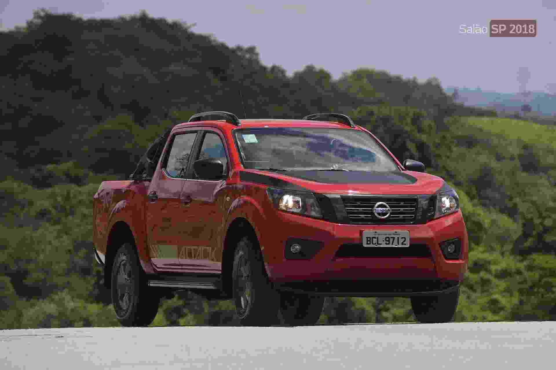 Nissan Frontier Attack - Murilo Góes/UOL