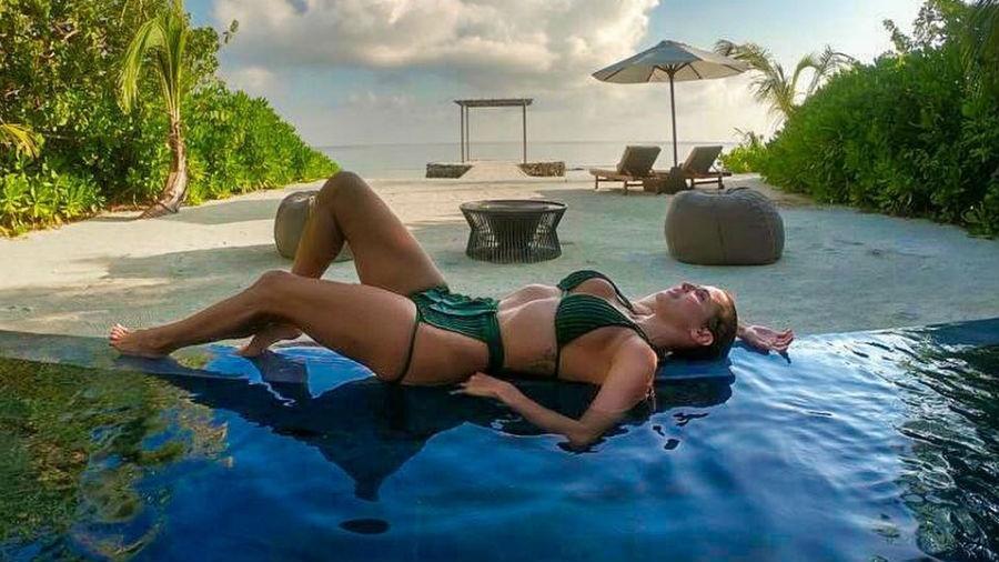 Deborah Secco nas Maldivas - Reprodução/Instagram