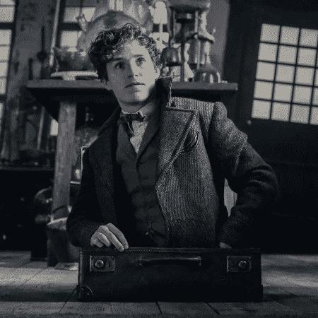 """Eddie Redmayne em cena de """"Animais Fantásticos: Os Crimes de Grindelwald"""" - Reprodução - Reprodução"""