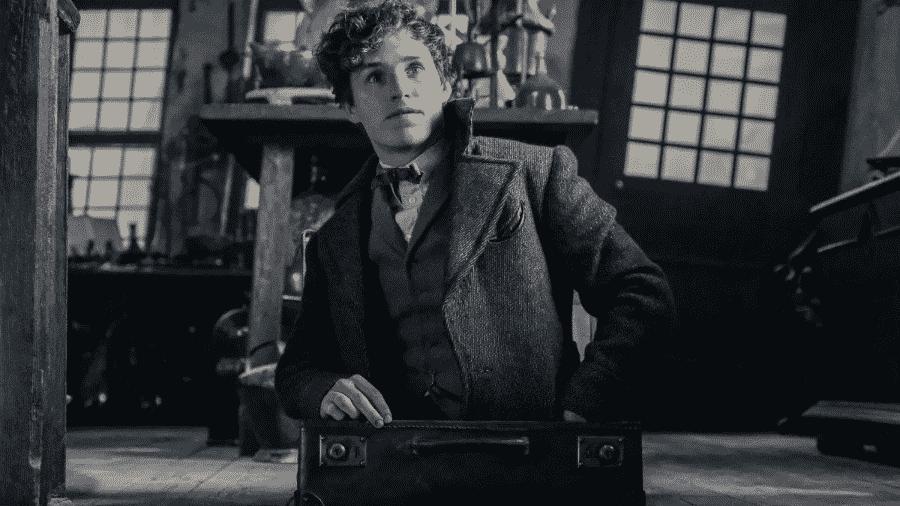 """Eddie Redmayne em cena de """"Animais Fantásticos: Os Crimes de Grindelwald"""" - Reprodução"""