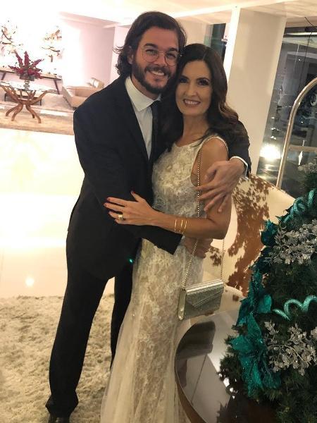 Fátima Bernardes e Túlio Gadêlha se preparam para festa de formatura - Reprodução/Instagram