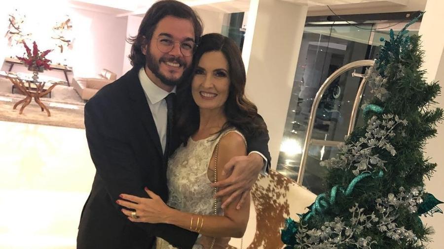 Fátima Bernardes assumiu o namoro com Túlio Gadêlha desde o final de 2017  - Reprodução/Instagram