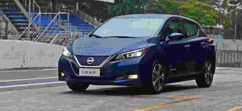 Em pré-venda, elétrico Nissan Leaf empresta conjunto tecnológico como base para desenvolvimento de célula de combustível a etanol - Murilo Góes/UOL