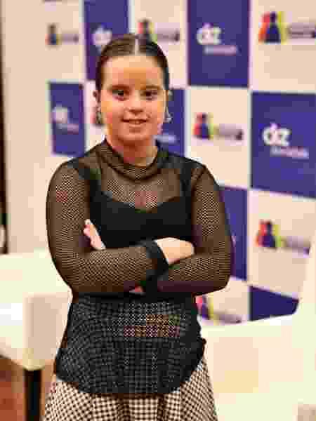A jovem Julia Oliveira Camarão, de 18 anos, tem síndrome de Down - Arquivo pessoal