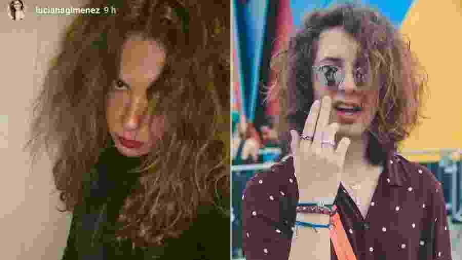 Luciana Gimenez imita o visual do filho mais velho, Lucas Jagger - Reprodução/Instagram