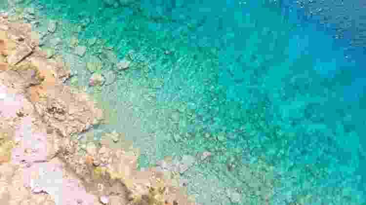 Praia de Egina, na Grécia  - Bruno Aguirre/Unsplash