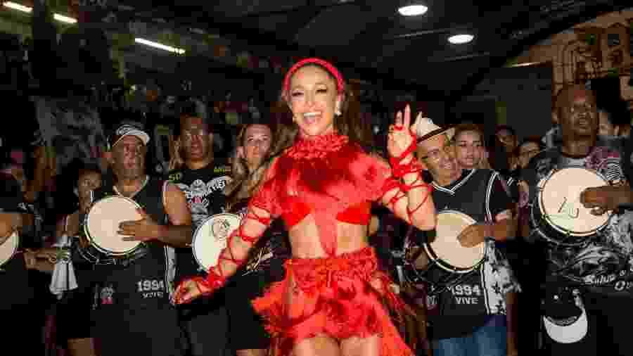 Sabrina Sato, da Gaviões da Fiel, segue como a campeã de seguidores no Instagram - Patrícia Devoraes/Brazil News
