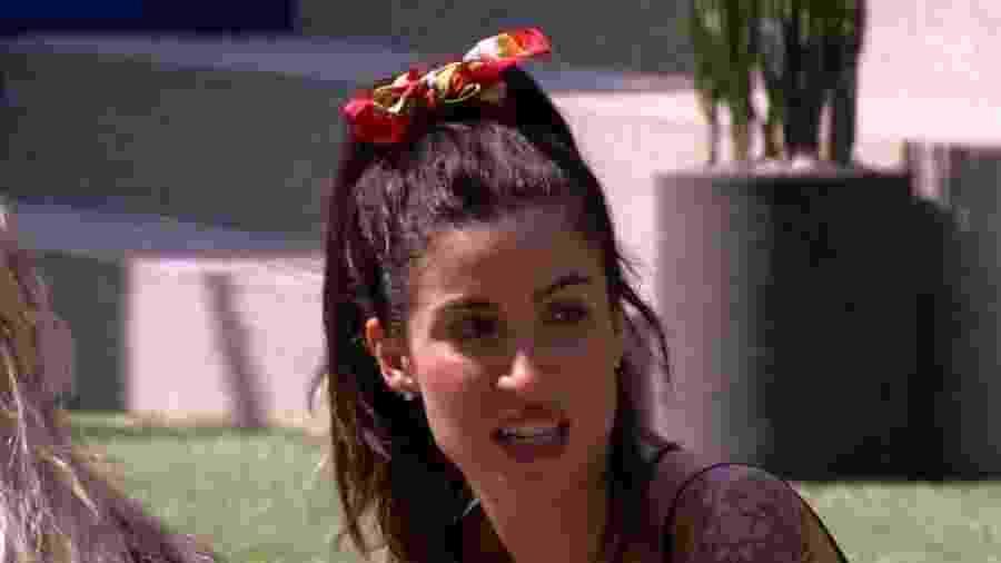 Bianca diz que está afastada do pai - Reprodução/Globoplay