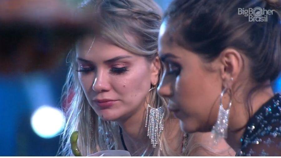 BBB 20: Gizelly e Marcela falam de Felipe - Reprodução/Globoplay