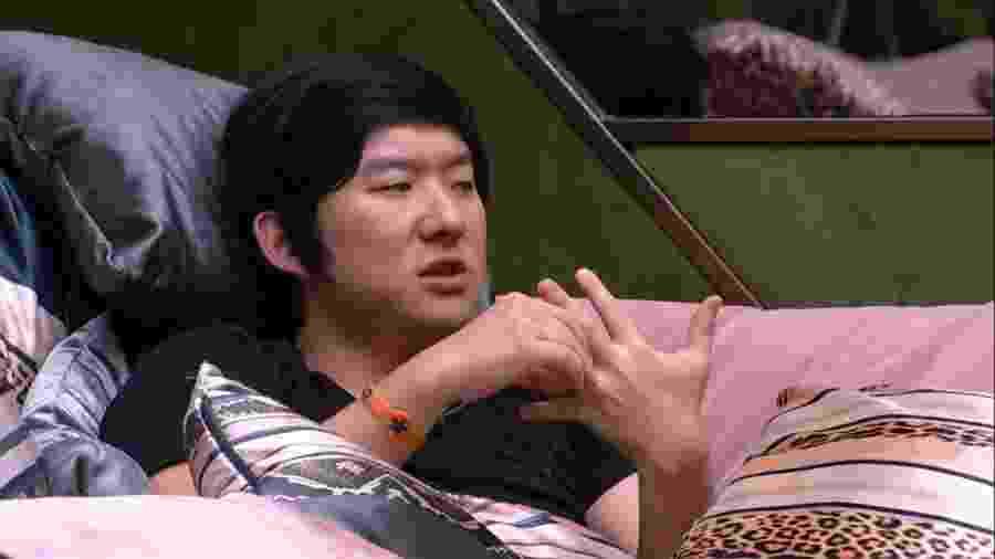 BBB 20 - Pyong conversa com Marcela - Reprodução/Globoplay