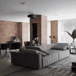 Os lofts de Nova York inspiraram o arquiteto Marcelo Rosset no projeto do apartamento que segue o tom industrial - nas cores, nos acabamentos e na disposição dos móveis. O caminho não poderia ser outro: as amplas janelas do imóvel foram um convite para o espaço, com direito a pendentes industriais iluminando diretamente a mesa. - Gui Morelli