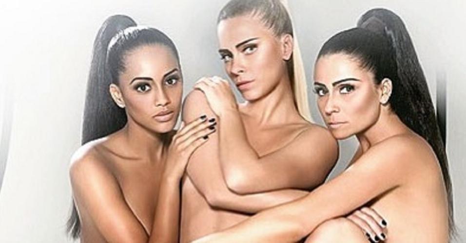 Taís Araújo, Carolina Dieckmann e Giovanna Antonelli em foto
