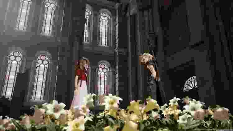 Muitas cenas são recriações exatas do jogo original, outras acontecem em contextos diferentes - Reprodução