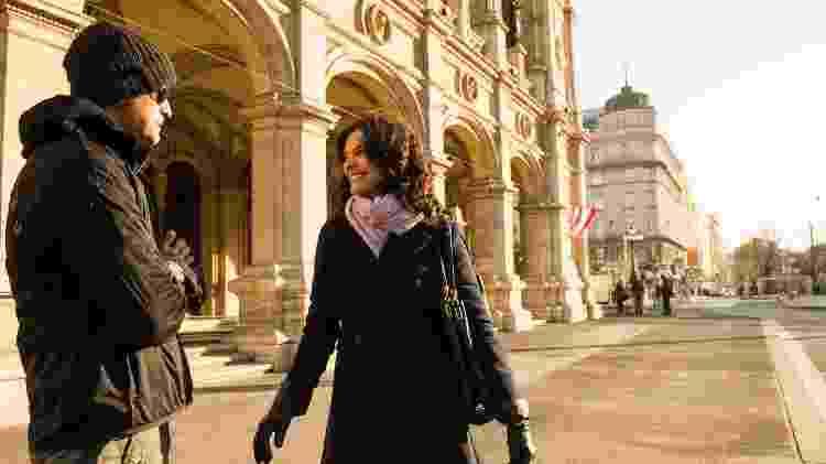 Helena Ranaldi nas gravações de 'Em Família', sua última novela - João Miguel Júnior/Globo - João Miguel Júnior/Globo