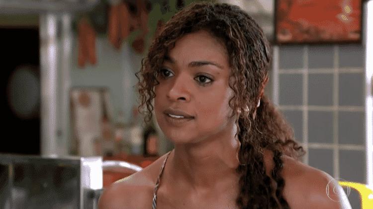 Cris Vianna como Dagmar em 'Fina Estampa' - Reprodução/Globo - Reprodução/Globo