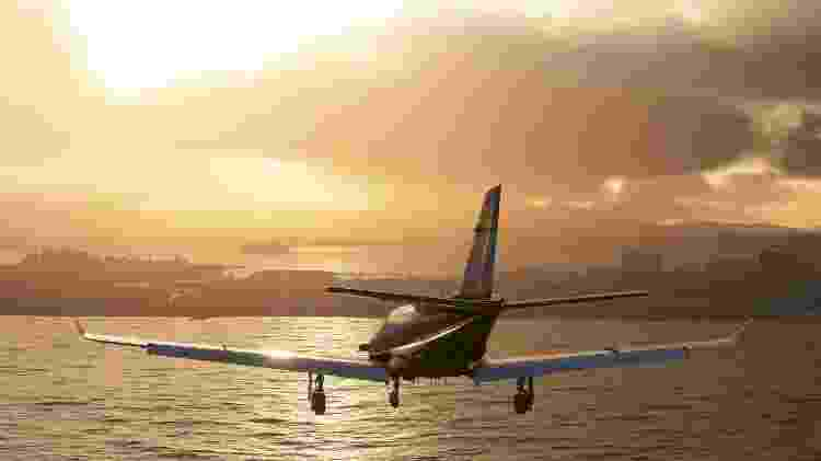 Microsoft Flight Simulator 4 - Divulgação/Microsoft - Divulgação/Microsoft
