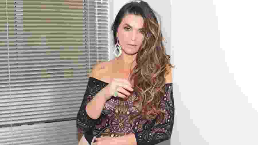 """Luiza Ambiel tornou-se conhecida quando era musa da quadro Banheira do Gugu, no """"Domingo Legal"""" - Reprodução/Instagram"""