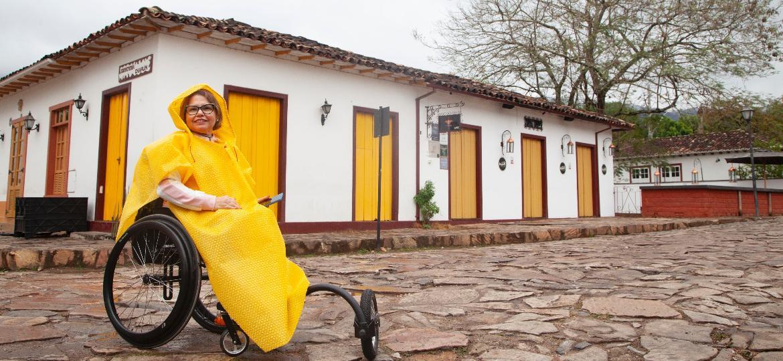 Laura Martins compartilha em um blog suas experiências de viagem e dicas sobre acessibilidade em turismo - Marta Alencar