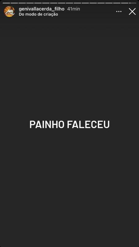 Genival Lacerda Filho print - Reprodução / Instagram - Reprodução / Instagram