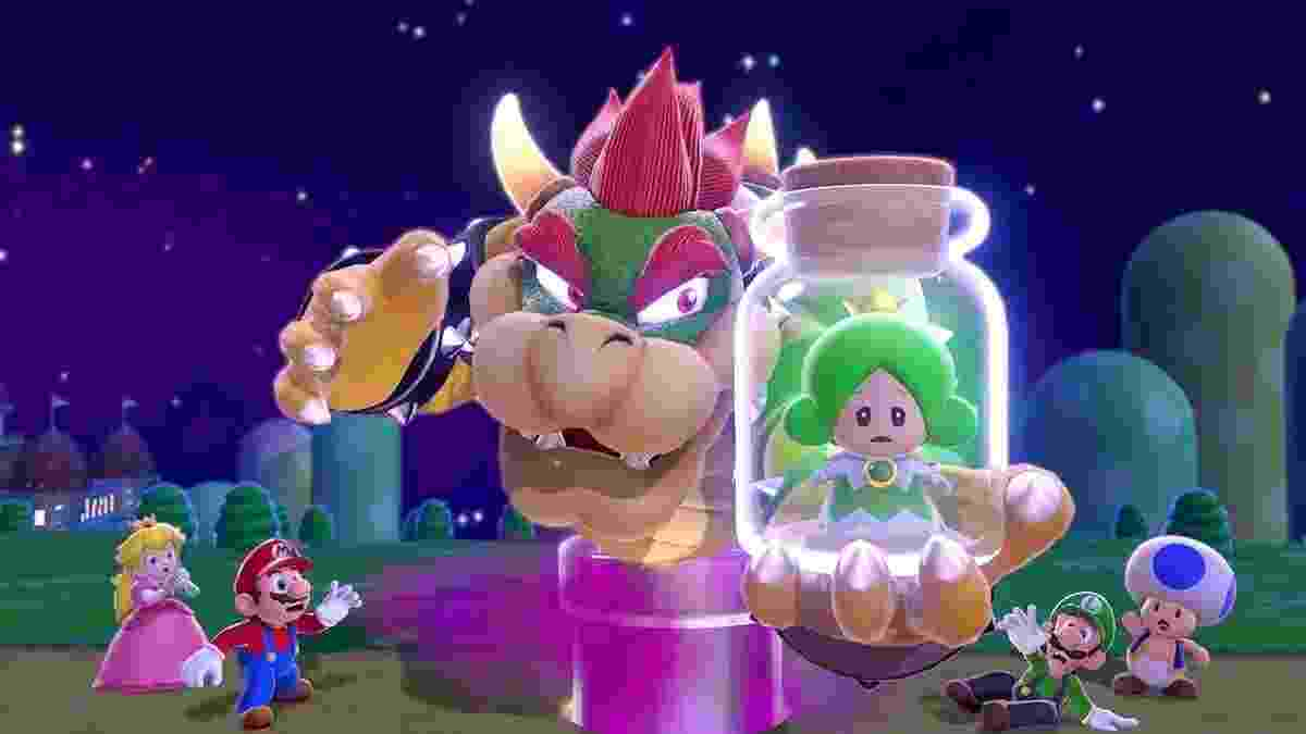 Super Mario 3D World - Reprodução