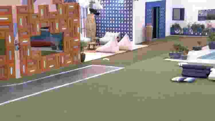 BBB 21: Câmera do quarto cordel exibiu imagem da varanda durante papo de sexo - Reprodução/Globoplay - Reprodução/Globoplay