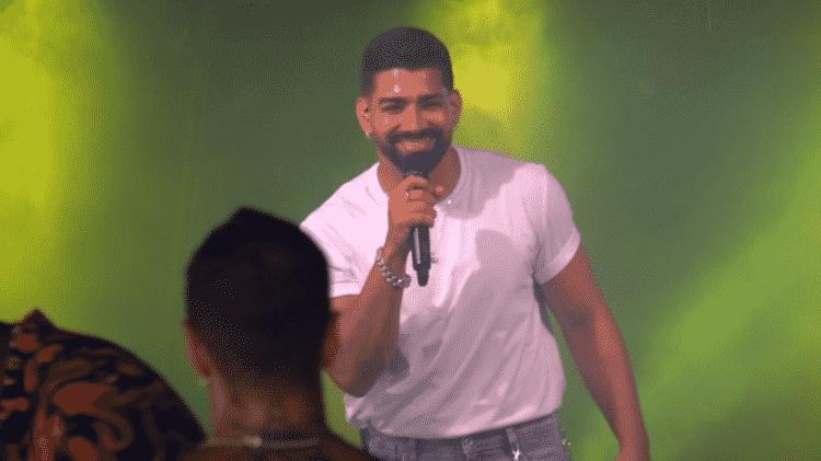 Dilsinho se apresenta no 'De Férias com o Ex Celebs' - Divulgação/MTV - Divulgação/MTV