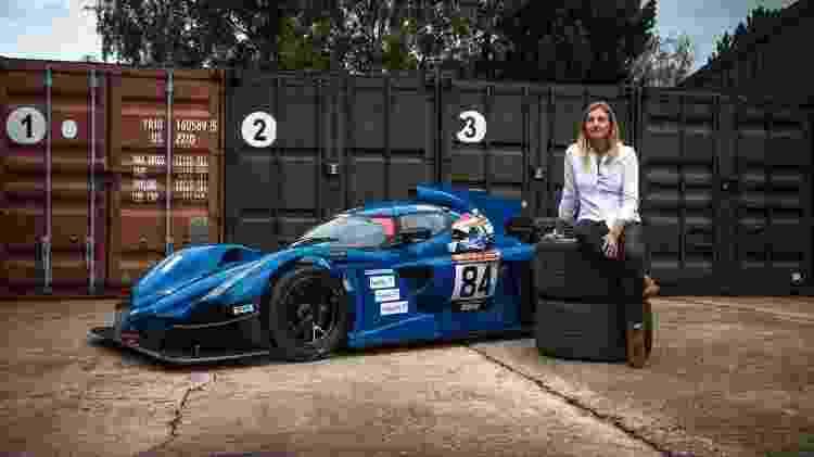Charlie Martin, que disputou a 24 Horas de Nurburgring em 2020 - Divulgação - Divulgação