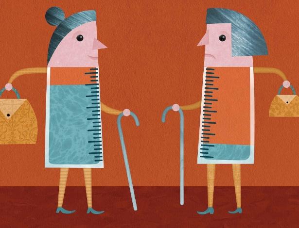 Pesquisadores dizem que os ganhos de longevidade são do topo da escada econômica - Joyce Hesselberth/The New York Times