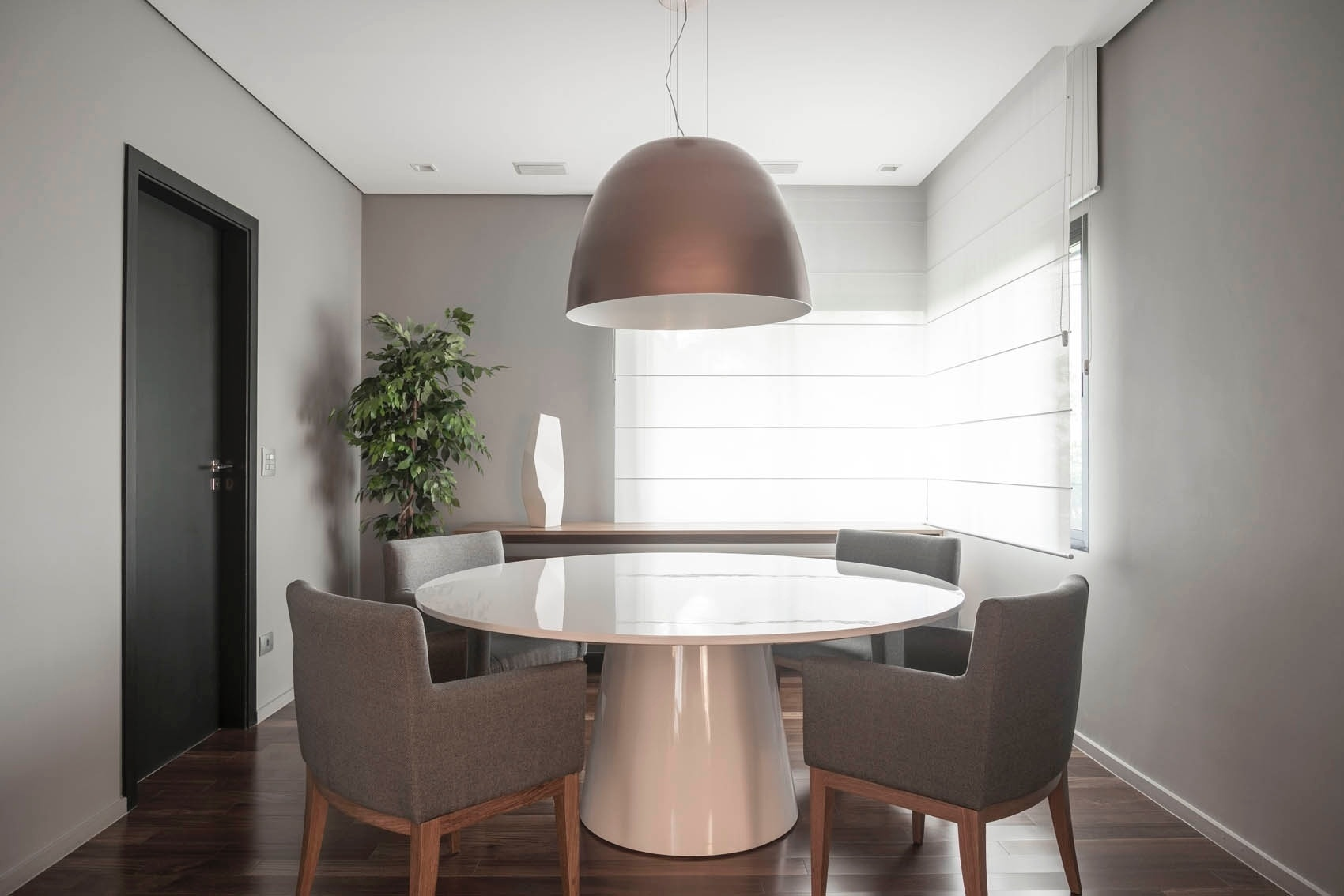 Salas De Jantar Ideias Para Decorar O Ambiente Bol Fotos Bol Fotos -> Sala De Jantar Pequena Com Mesa De Marmore