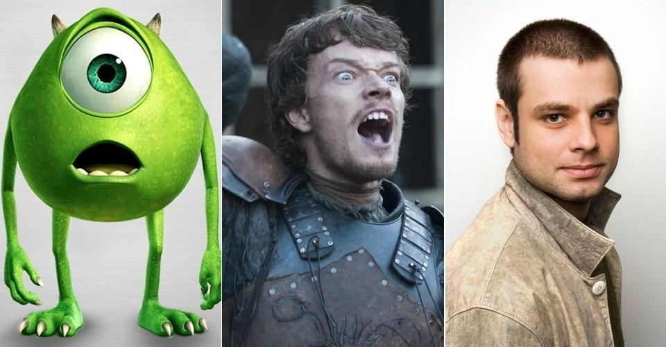 """Theon Greyjoy (Alfie Allen) era dublado por Sérgio Stern, conhecido por Mike Wazowski em """"Monstros S.A."""" Na sexta temporada, tem a voz de Fábio Azevedo, ex-galã da Globo e protagonista de """"Malhação"""" em 2000, com extensa carreira em dublagem"""