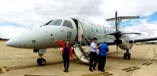 Pãmella conseguiu viajar nos aviões da FAB, mas teve que esperar 8 dias - Arquivo pessoal
