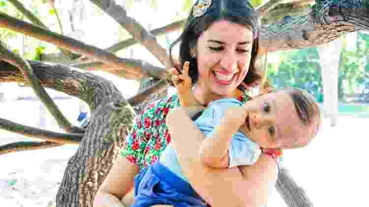 Marcela Proença Garcia, 35, mãe de Davi, 2, personagem de matéria de UOl Gravidez e Filhos sobre parto sem anestesia - Arquivo Pessoal - Arquivo Pessoal