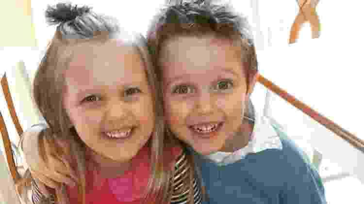 Abel e Belle acabaram de fazer cinco anos - Reprodução/BBC - Reprodução/BBC