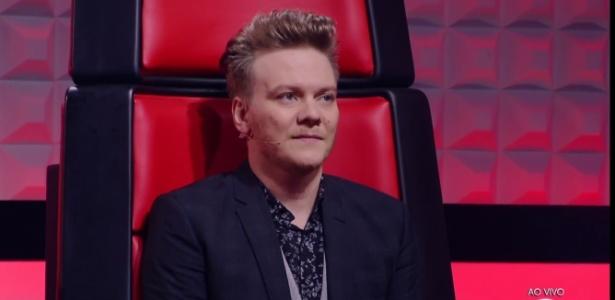 """Michel Teló, que venceu oito dois oito duelos da batalha dos técnicos do """"The Voice"""" - Reprodução"""