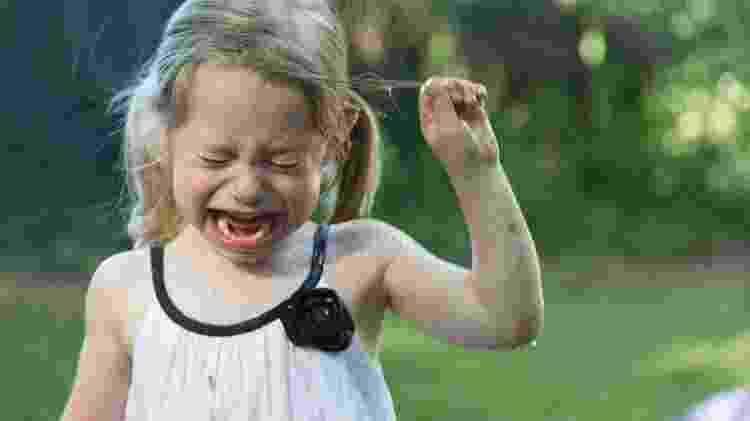 criança, birra, choro - Getty Images - Getty Images