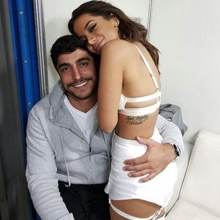 Anitta e o ex-marido, Thiago Magalhães - Reprodução/Instagram