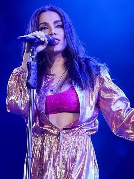 Anitta se apresenta no show de Réveillon de Copacabana - Reprodução/Instagram