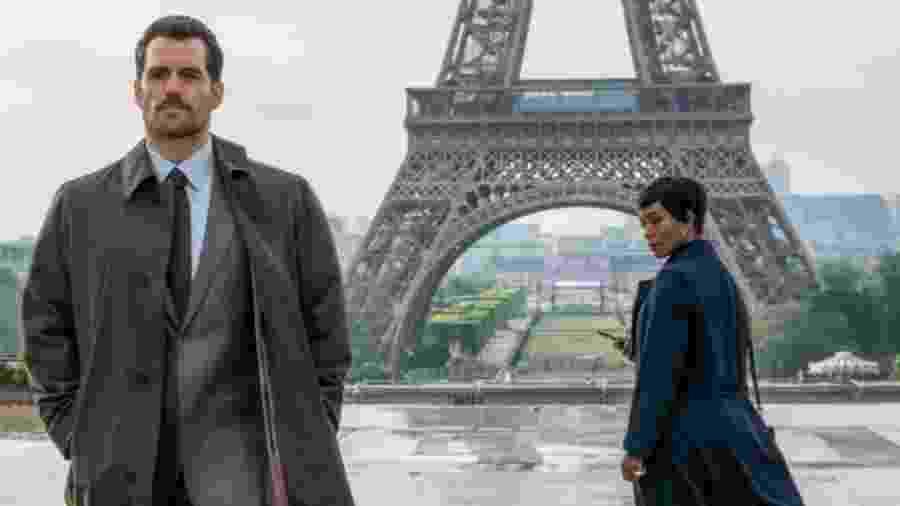 """Henry Cavill aparece em foto de """"Missão: Impossível - Efeito Fallout"""" - Reprodução"""
