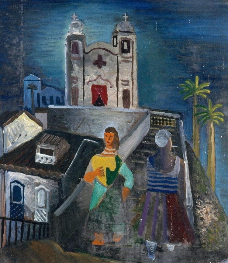 Durante a Segunda Guerra Mundial, como ato de solidariedade à luta contra o nazismo, 70 artistas modernistas brasileiros mandaram, de navio, 168 quadros de presente para a Inglaterra. Veja algumas das obras.