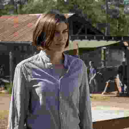 "Maggie (Lauren Cohan) em cena de ""The Walking Dead"" - Divulgação"