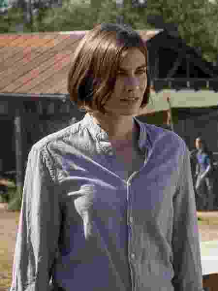 Maggie (Lauren Cohan) em cena do último episódio da oitava temporada de The Walking Dead - Divulgação