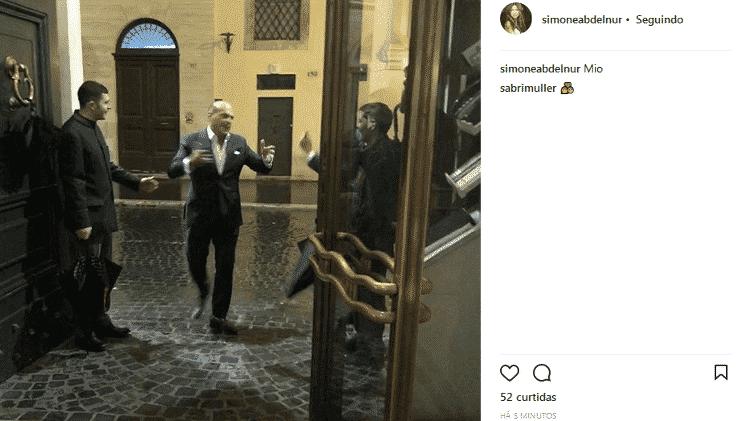 Simone Abdelnur se declara ao namorado, Marcelo de Carvalho - Reprodução/Instagram/simoneabdelnur - Reprodução/Instagram/simoneabdelnur